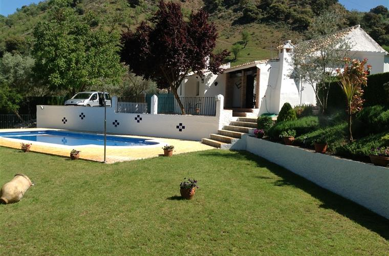 Garden and 11m pool