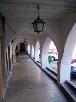Medieval arches in Lucena del Cid