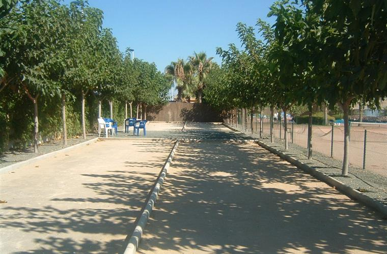 Jeux de Boules on Mazarron Country Club.