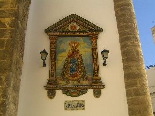 church in Vejer