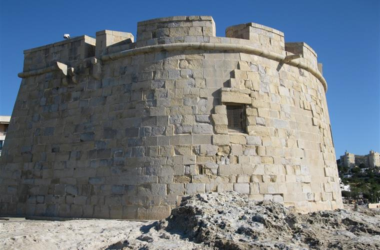 El Castell, the landmark of Moraira