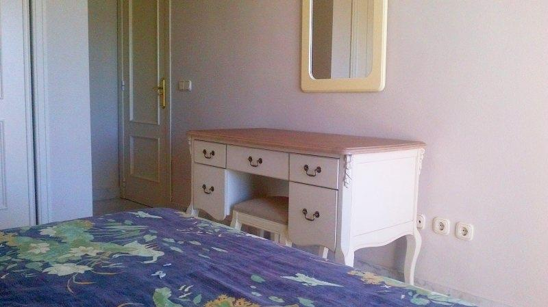 Dressing table/desk in double bedroom