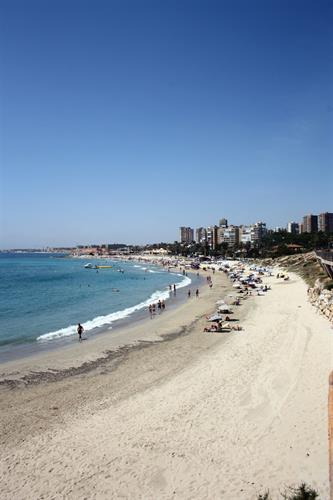 The nearby Campoamor / La Glea beach.