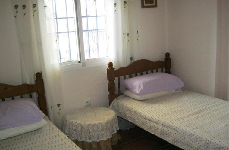 Bedroom 3.Single beds in this room.Wardrobes in all rooms.