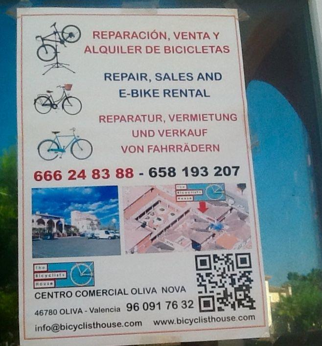 Bicycle Hire On Site