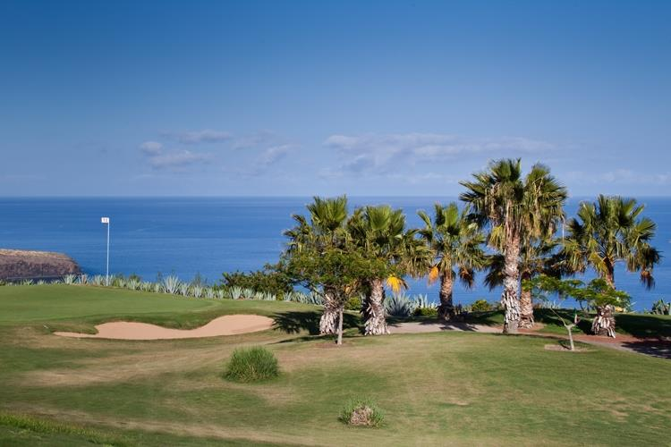 Sea views from the Golf course