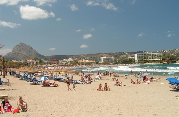 The Beach at Javea - only 15 min away