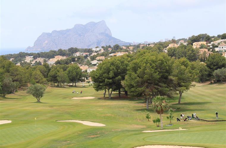 Ifach (Moraira) Golf  20min away!