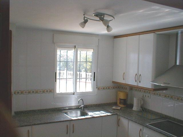 large equipped kitchen