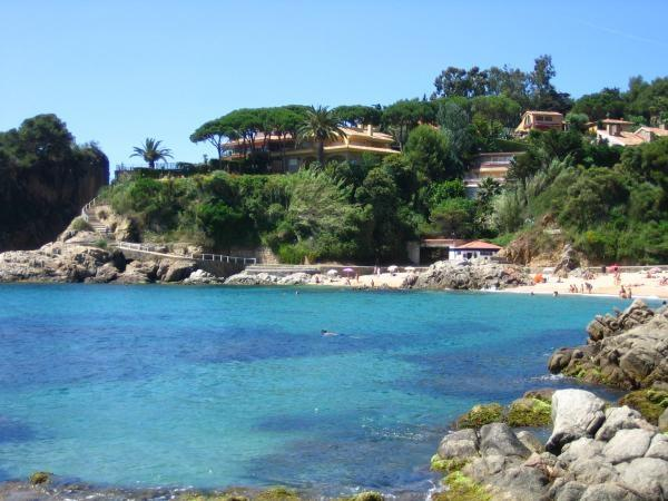 Bay and sandy beach of Cala Sant Francesc