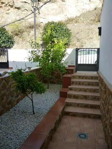 Lemon & Orange trees at House Entrance