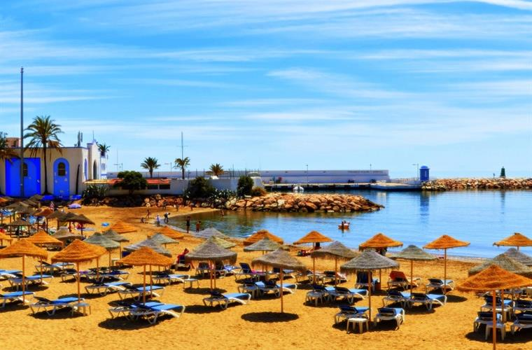 Beach in Marbella