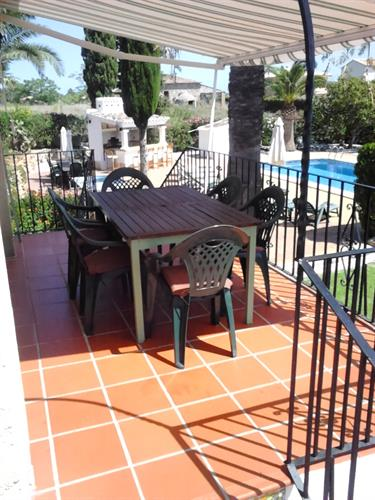 Holiday villa for rent in j vea montgo j vea vacation for Outdoor furniture javea