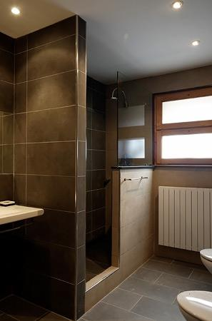Guest walk-in shower room