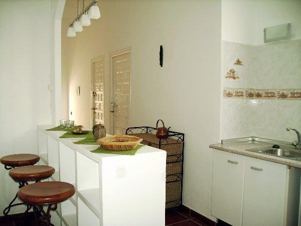 Part of the second  kitchen