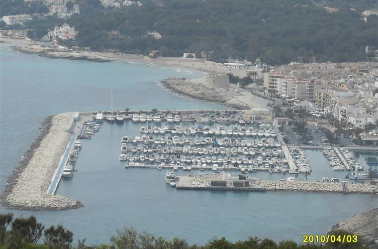 The harbour of Moraira