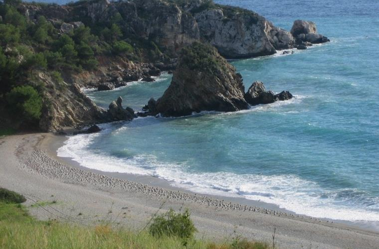 Natural beach Cerro Gordo