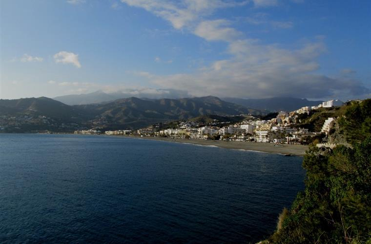 Panoramic view of La Herradura