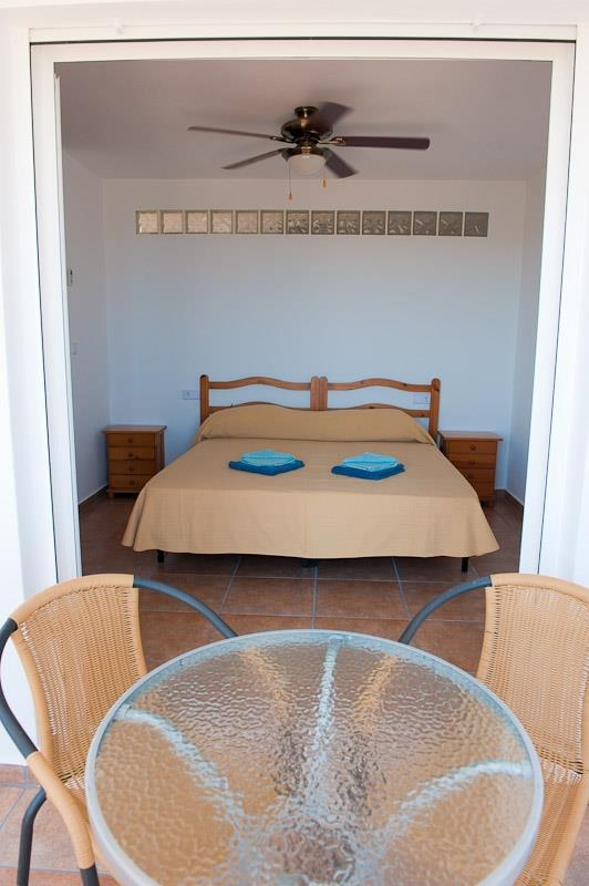 One of the villa´s 8 bedrooms