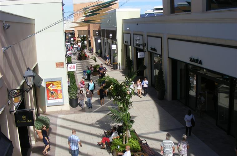 Zenia Boulevard shopping mall.