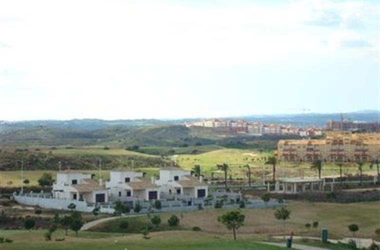 Views of Costa Esuri golf course and Urbanisation