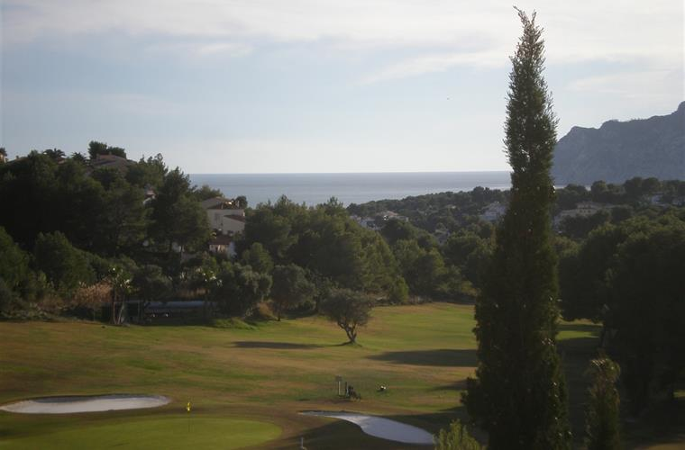 View of the golf course from the terrace. golfprivileges