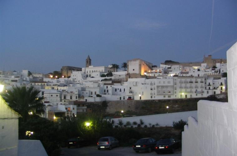 Gorgeous hilltop town of Vejer