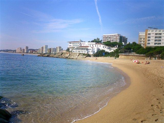 Beach Cala Rovira (at 500 m)