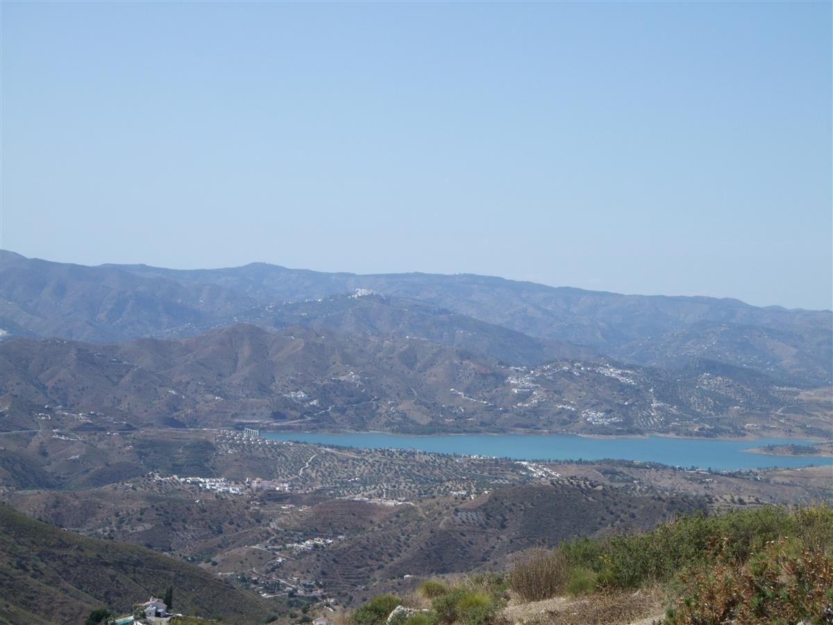 View towards Lake Vinuela
