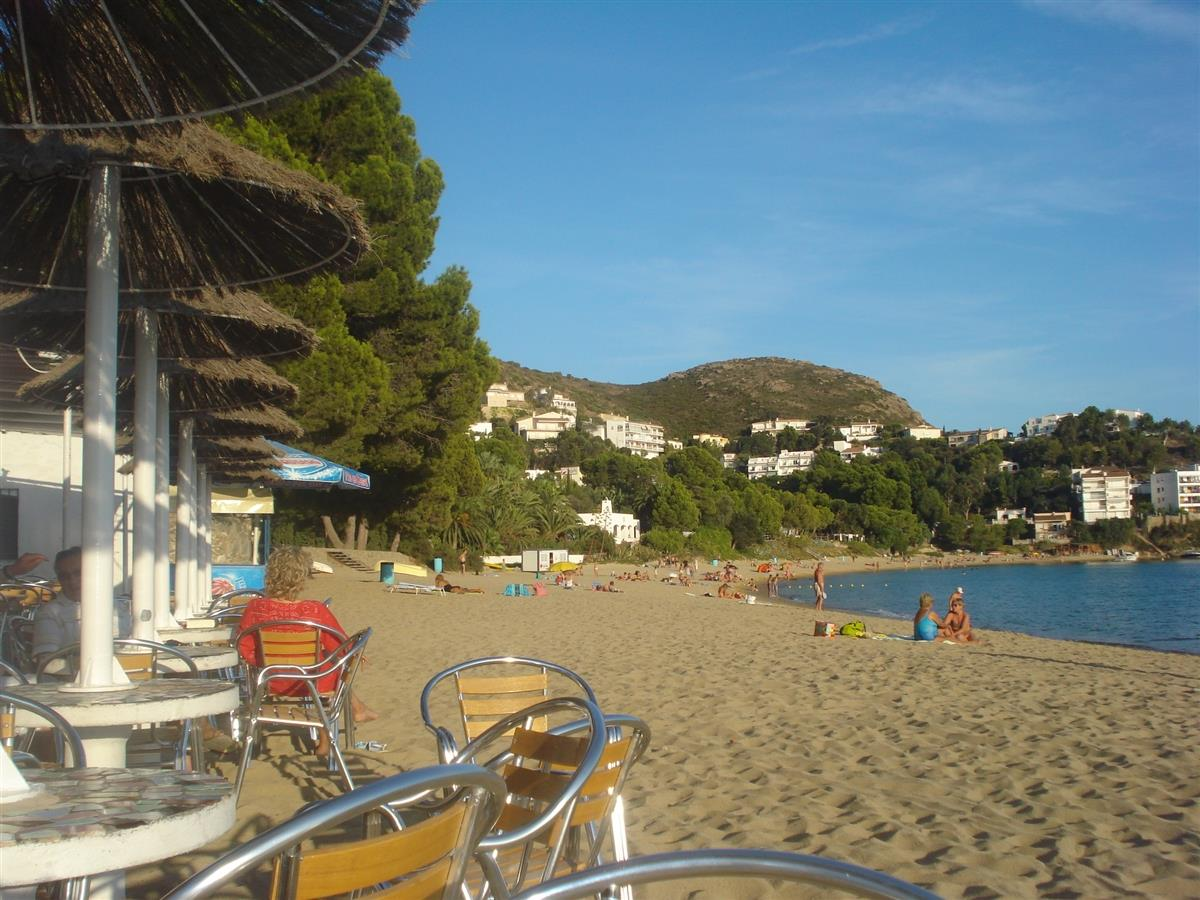 Beach at Almadrava - walking distance.