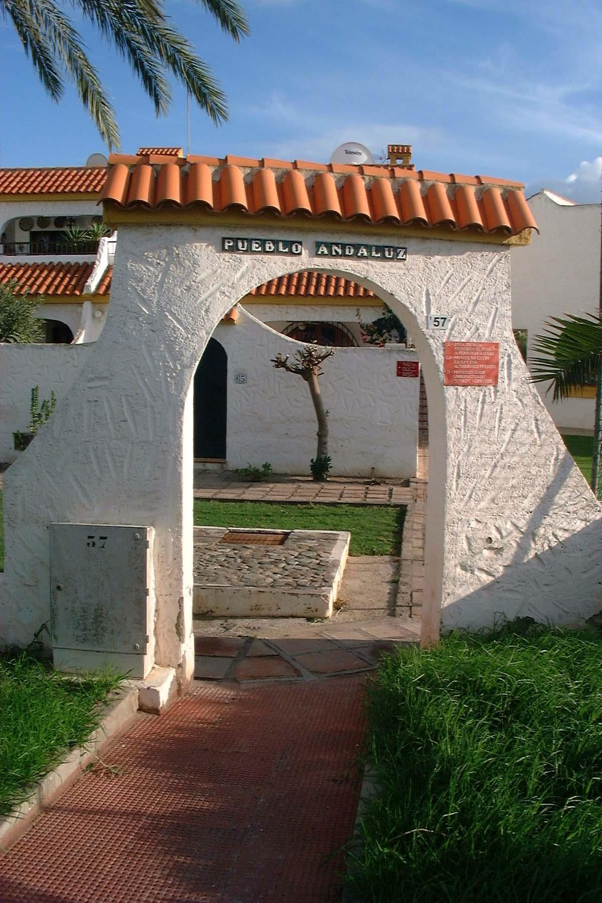 Pueblo Andaluz entrance