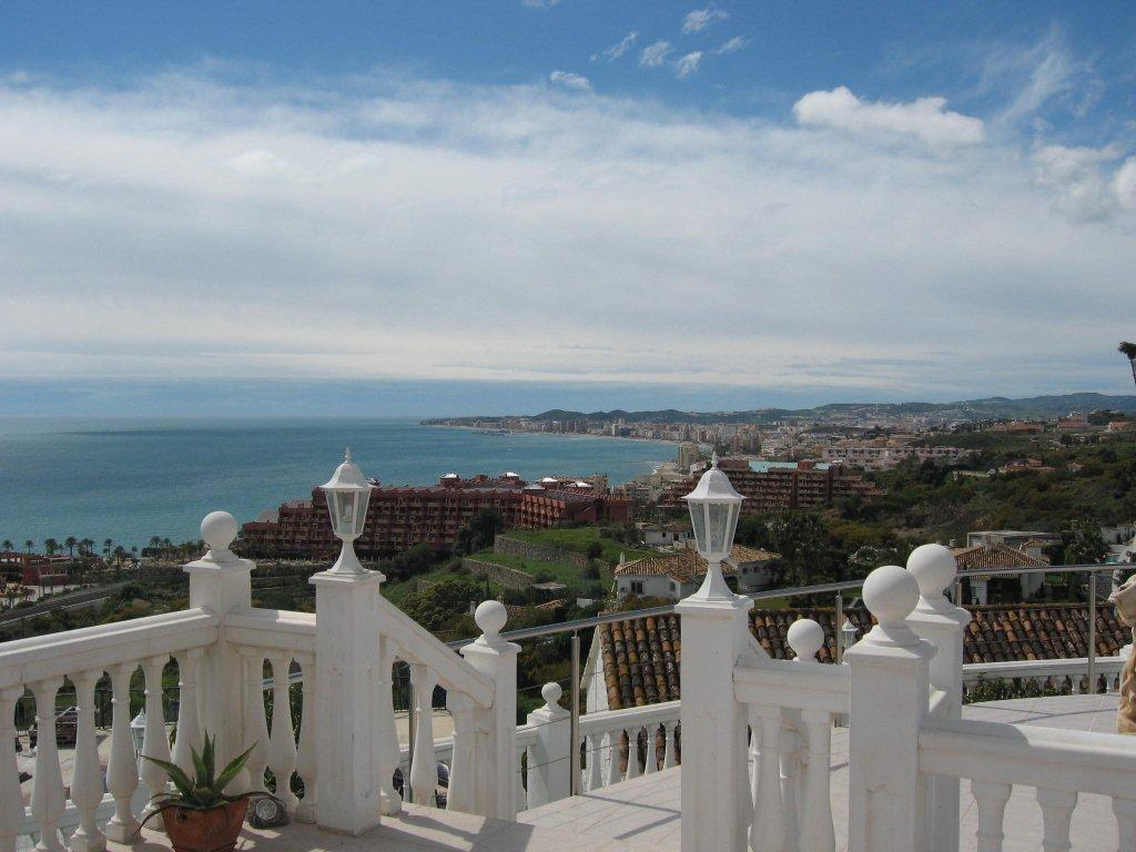 View to the south - Fuengirola