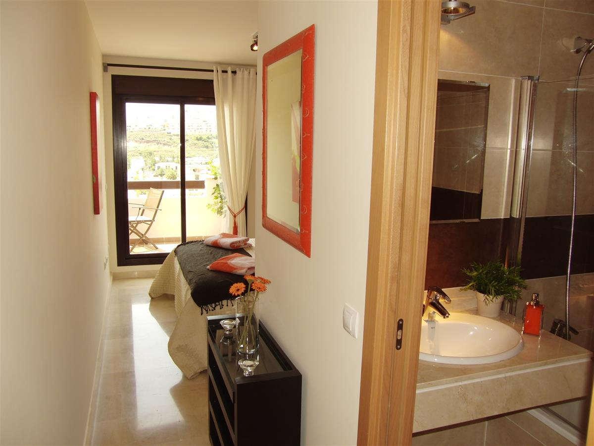Holiday apartment for rent in la cala de mijas calablanca la cala de mijas vacation Hallway to master bedroom