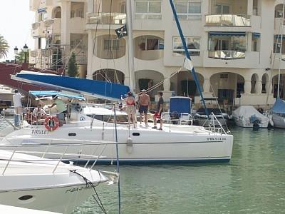Available catamaran and other ships for rent in Marina