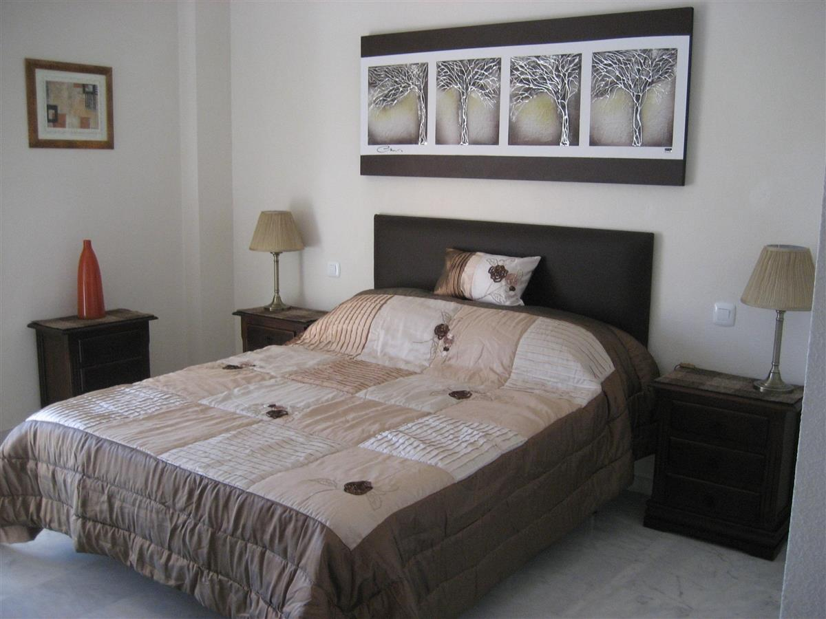 Our master bedroom with kingsize bed and full ensuite bathroom