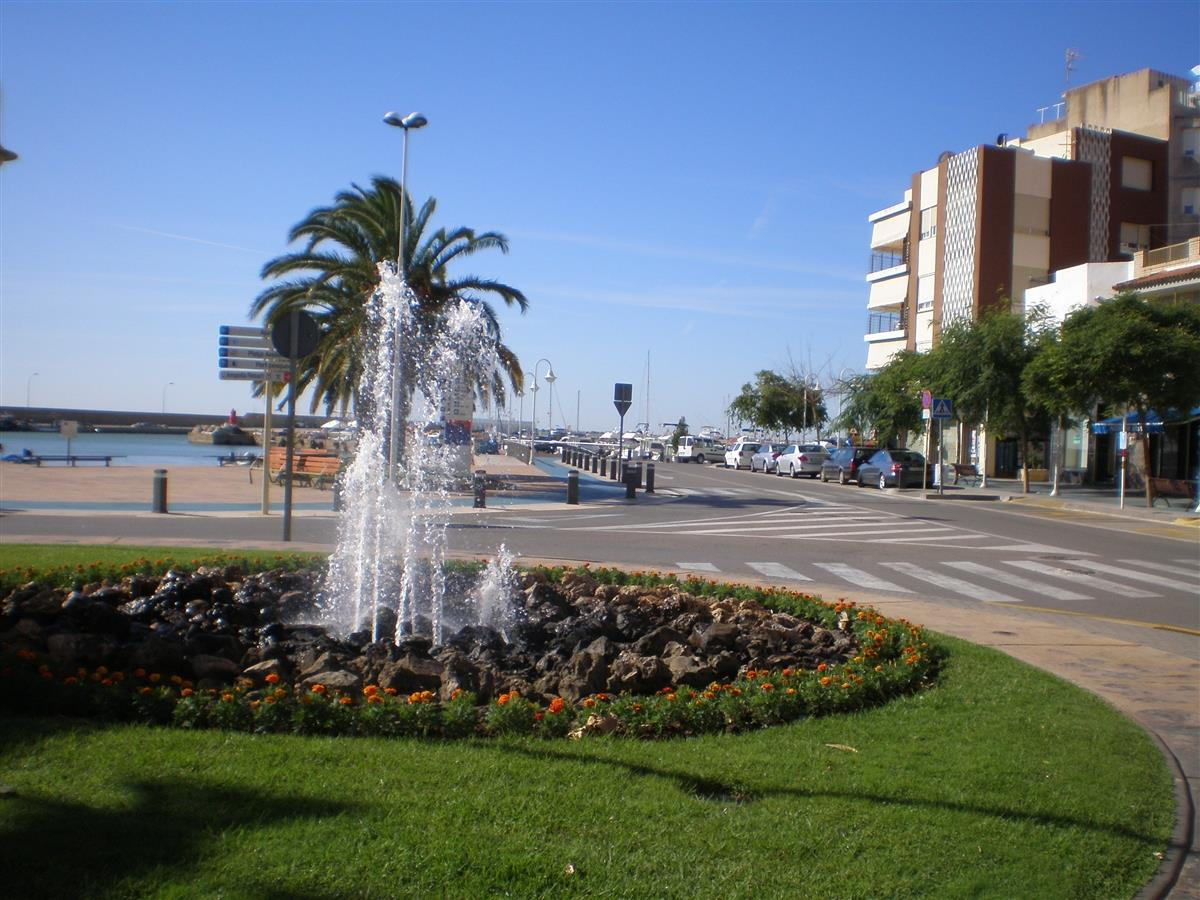L'Ampolla de Mar, Small town located in the Costa Dorada