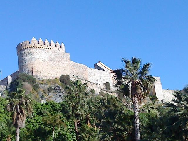 The fortress seen from the park.