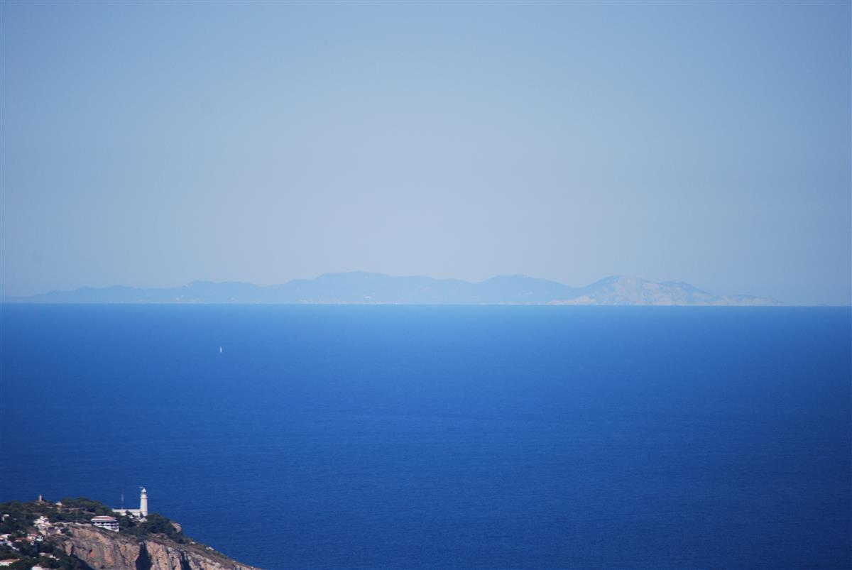 On a clear day you can see the island of Ibiza from our terrace