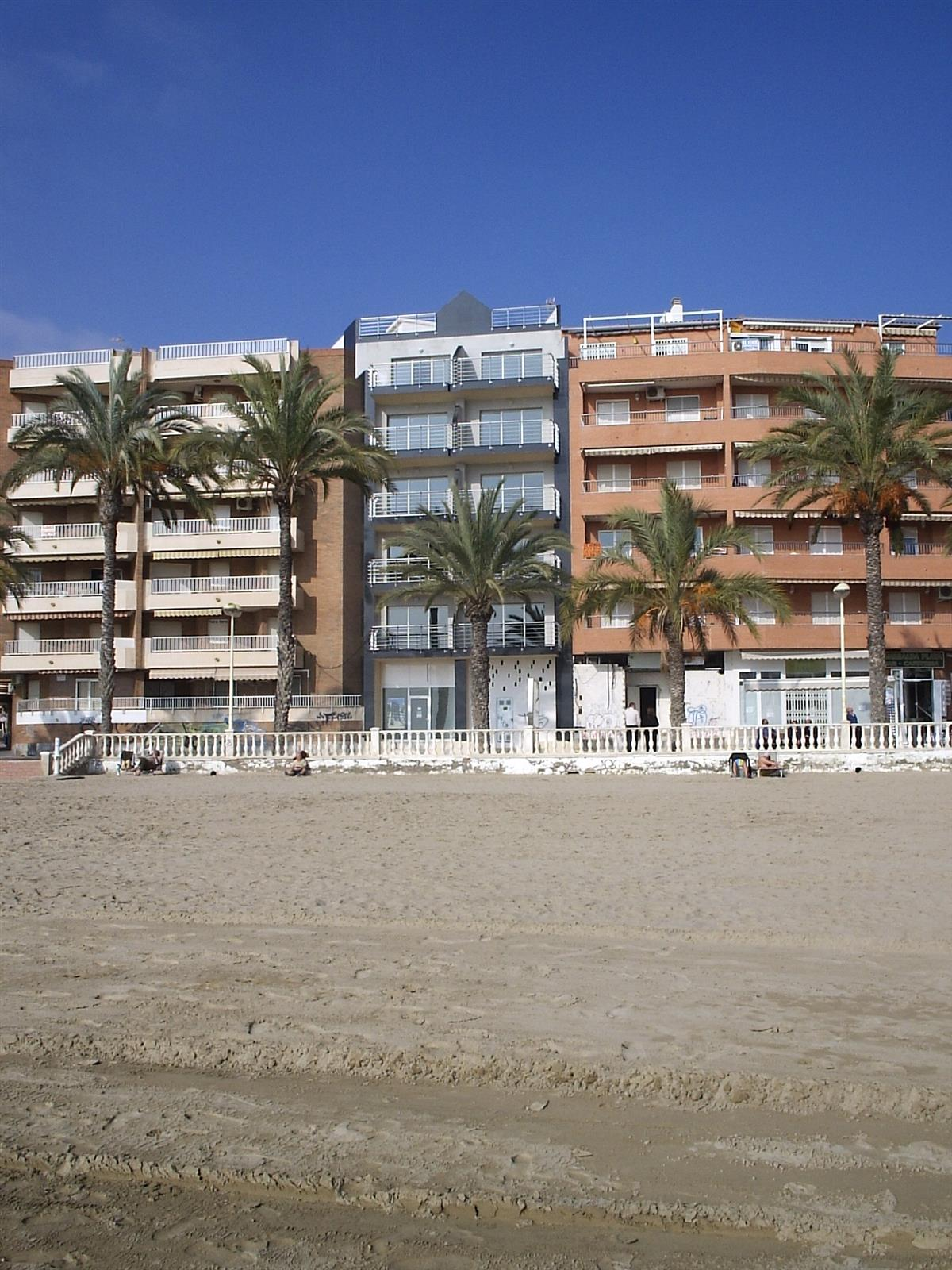 Front of Building from The Beach