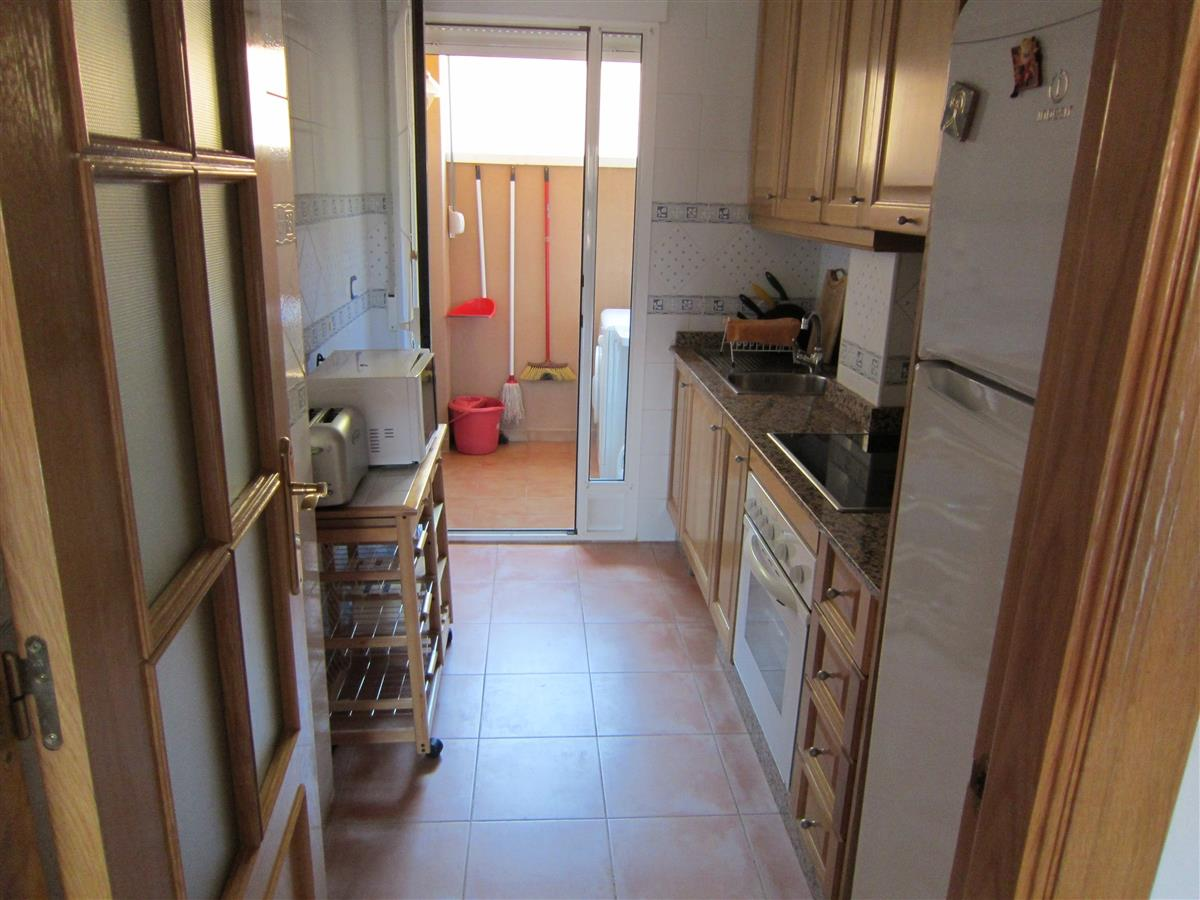Immaculate kitchen to meet your needs for a self catering holiday.