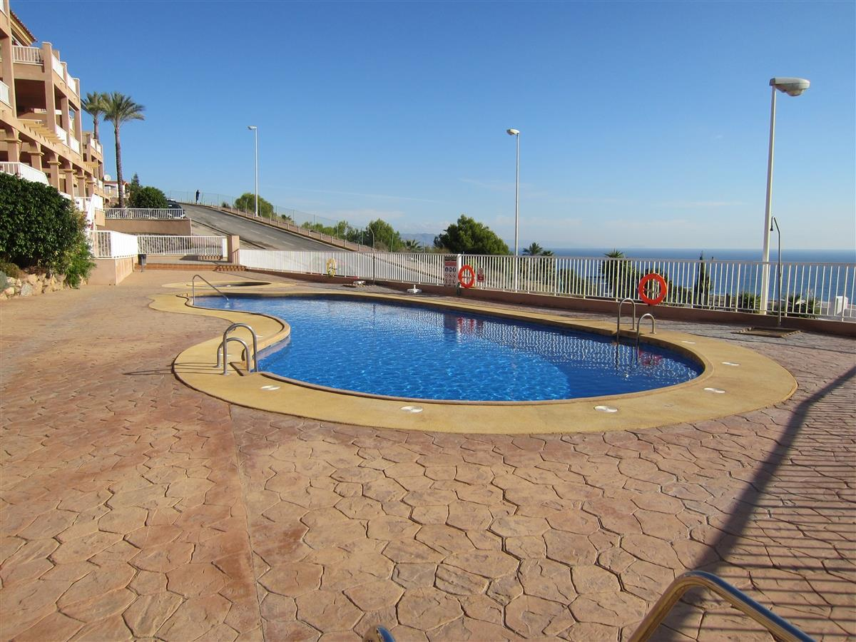 1 of the 2 pools available to you, both with stunning views.