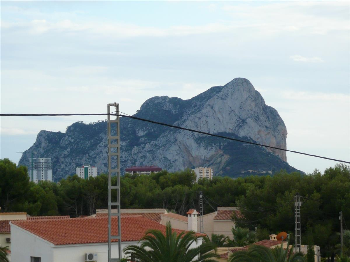 Views of Peñon de Ifach