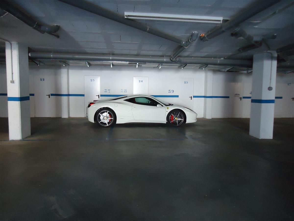 Secure underground parking!