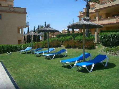 Sun Loungers by one of the 2 pools