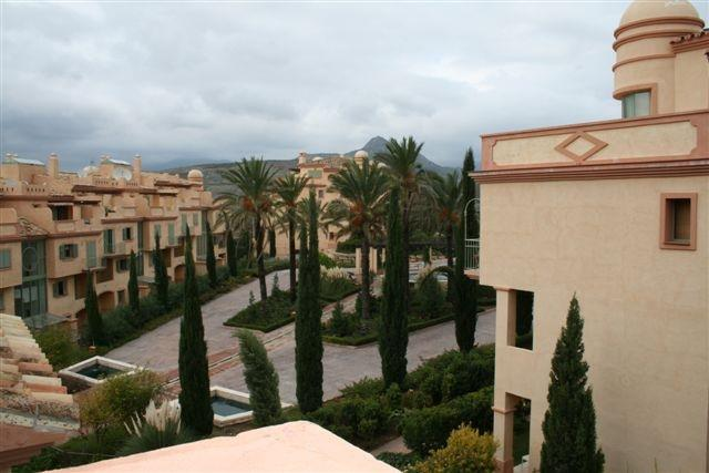 Grounds of Los Flamingos Complex
