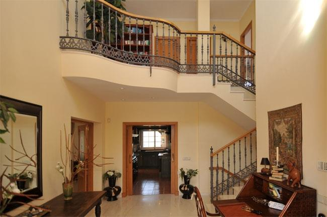 Entrance hall of the villa in Mijas Golf