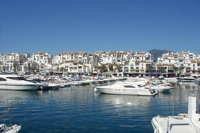 Harbour of Puerto Banus