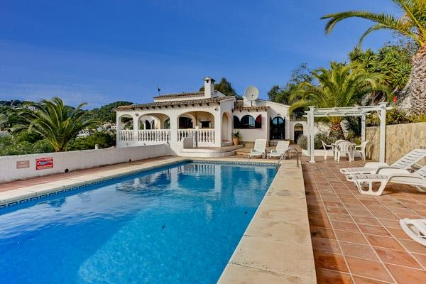 Holiday Villa in Moraira