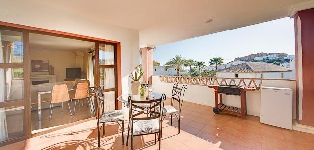 The fabulous terrace on main floor, BBQ, fridge, views, heaven!