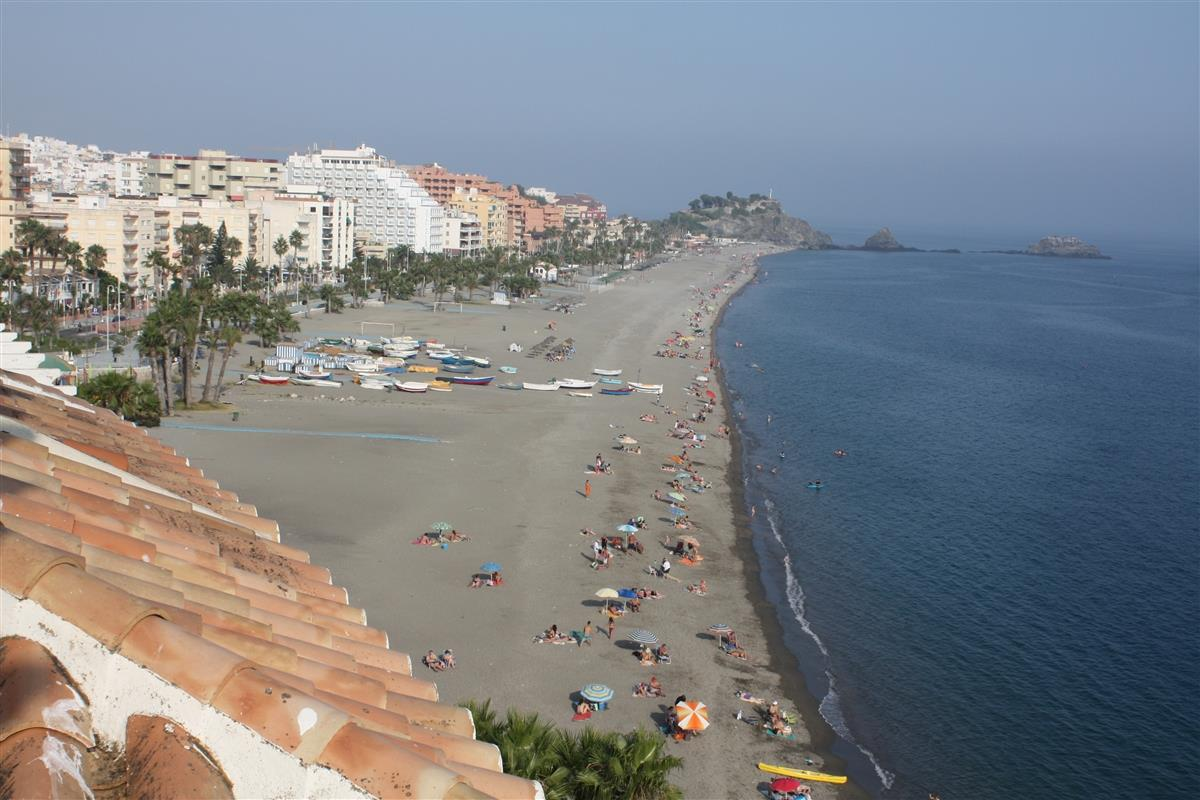 View from the terrace of the beach of San Cristóbal